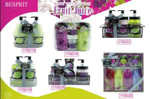Bath Set-Fruit Juice range
